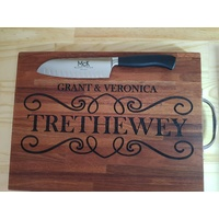 Personalized Knife & Board